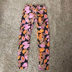 Leaf print LulaRoe leggings